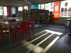 Bibliotheek. Zon.
