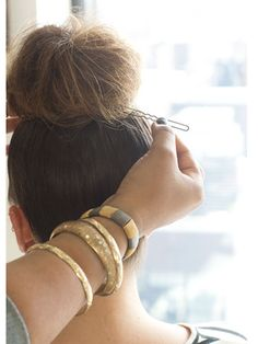 Top Knot Hairstyles   Marie Claire