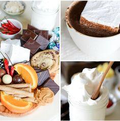 YESSS TO HOT CHOCOLATE!!  hot chocolate bar with homemade vanilla bean marshmallows I howsweeteats.com