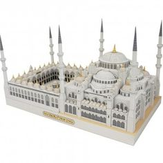 Download Sultan Ahmet Camii, Turkey Papercraft Model