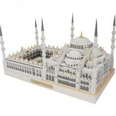 Download Sultan Ahmet Camii, Turkey Papercraft Model
