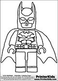 Printable Lego Batman pages. All the characters are here! Fantastic birthday party favors - assemble a coloring book!