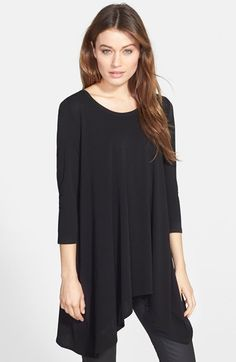 Eileen Fisher Silk Tunic Top | Nordstrom