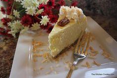 TheKitchenCookie: Creamy Coconut Cheesecake