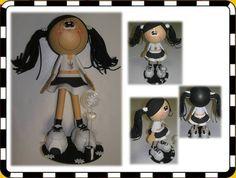 Boneca 3d Corinthiana