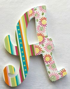 53 ideas painting wood letters wedding for 2019 Painted Initials, Painting Wooden Letters, Painted Letters, Painted Wood Walls, Hand Painted, Letter Door Hangers, Wedding Letters, Hanging Letters, Nursery Letters