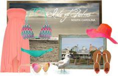 Beachwear inspired by Isle of Palms, SC