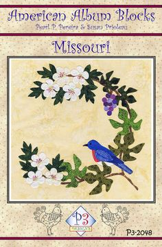 click here to view larger image of American Album -  Missouri Show Me State  (PATTERNS)