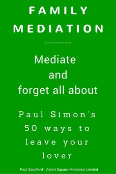 Going through a divorce? Have you tried family mediation as a divorce process? Divorce and family mediation can work well together. Divorce Mediation, Divorce Process, Paul Simon, Broken Marriage, Divorce Lawyers, After Divorce, Helping Children, Hypnotherapy, Better Together