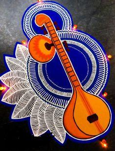 50 New Rangoli Designs (Rangoli Ideas) - September 2019 Best Rangoli Design, Rangoli Designs Latest, Simple Rangoli Designs Images, Rangoli Designs Flower, Free Hand Rangoli Design, Rangoli Patterns, Rangoli Ideas, Rangoli Designs Diwali, Rangoli Designs With Dots