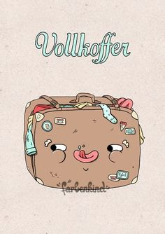 Vollkoffer, Wiener A Illustrator, Funny Illustration, Good Humor, Vienna Austria, Haha, Funny Pictures, Doodles, Cartoon, My Love