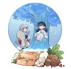 Inuyasha Funny, Inuyasha Fan Art, Anime Chibi, Kawaii Anime, Inuyasha Cosplay, Inuyasha And Sesshomaru, Fan Anime, Romantic Manga, Cute Chibi