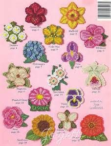 free plastic canvas flower patterns Yahoo Search Results