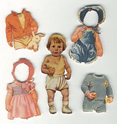 Vintage Paper Dolls | Purchased a big lot of paper dolls at … | Flickr