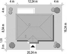 Projekt domu Jak marzenie 88,53 m2 - koszt budowy 83 tys. zł - EXTRADOM Home Decor, Homemade Home Decor, Decoration Home, Interior Decorating