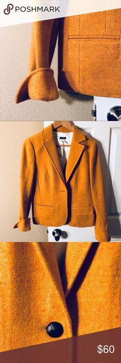 Never worn jcrew 100% wool jacket Great quality never worn 100% wool J. Crew Jackets & Coats Blazers