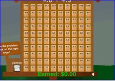 Hotel Decimalfornia - adding and subtracting decimals online game