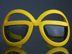 Silhouette Futura mod sunglasses, 1970's.