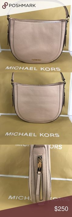 Michael Kors Medium Julia Ballet Shoulder Bag M I C H A E L ❤️  K O R S  ❈ Condition: New With Tags  ❈ Reasonable Offers Always Welcome   ❈ Bundles are always encouraged to save on shipping.  ❈ Shipping Monday ➡️ Friday - Fast Same/Next Day  ❈ Everything I sell comes from my clean, smoke-free & pet-free home.   ❈ All items are 100% authentic! I stand behind everything I sell.  ❈ Questions? Comment below, I will be more than happy to assist you.  ❈ Michael Kors Bag & Tissue available upon…