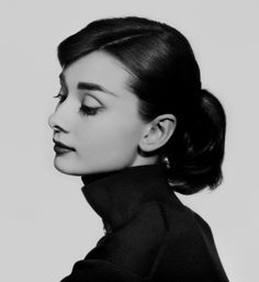 "anthenia:  """"Audrey Hepburn for Yousuf Karsh - 1956  "" """
