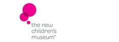 The New Children's Museum vertical color logo