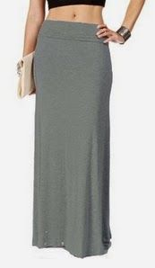 maxi skirts. Hollywood Star Fashion Women's Basic Stretch Solid Colored Plain Maxi Long Skirt. This is a nice item and I like it. #skirts