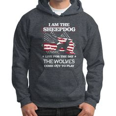 Sheepdog police sergeant Gildan Hoodie (on man)