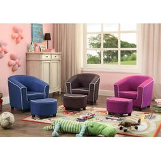 Ideas corner seating area reading chairs for 2019 Corner Seating, Kids Seating, Living Room Chairs, Living Room Furniture, Kids Playroom Furniture, Preschool Furniture, Nursery Furniture, Patchwork Chair, Eames Chairs