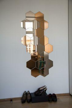 Walk-in closet - Mirror Mirror - IKEA - Copper - Silver