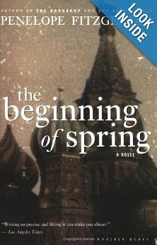 The Beginning of Spring: Penelope Fitzgerald: 0046442908719: Amazon.com: Books