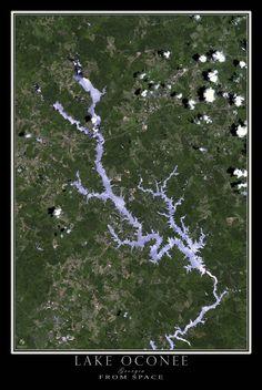 San Antonio Texas From Space Satellite Poster Map San Antonio - Satellite maps texas