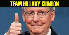 Traitor Mitch McConnell Campaigns For Hillary