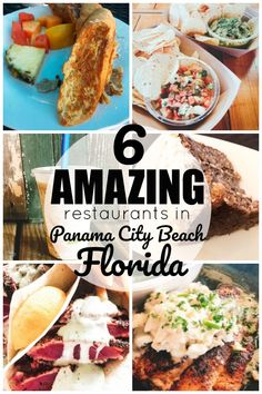 6 Amazing Panama City Beach Restaurants - If you are looking for where to eat amazing food in Panama City Beach Florida then this is the list - Panama City Florida, Panama City Beach Restaurants, Florida Food, Florida Vacation, Florida Travel, Florida Beaches, Seaside Florida, Destin Florida Restaurants, Vacation Spots