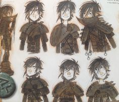 httyd2 Hiccup by nicolas marlet