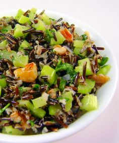 One Perfect Bite: Wild Rice, Celery and Walnut Salad - Outdoor Wednesday
