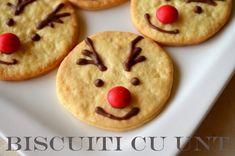 Biscuiti cu unt - Retete culinare by Teo's Kitchen Christmas Deserts, Some Fun, Cookie Recipes, Foodies, Biscuits, Desserts, Unt, Kitchen, Winter