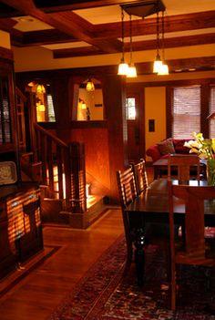 Arts & Crafts - traditional - Dining Room - Atlanta - Copper Sky Renovations