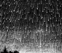Inspiring picture black and white, drawing, illustration, meteorshower, sky. Resolution: 500x553 px. Find the picture to your taste!