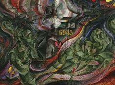 Les adieux, par Umberto Boccioni