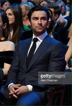 Aidan Turner at the NTA's