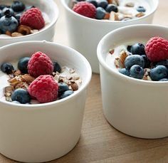 Yoghurt meal that can be eaten as a dessert or as a full meal - click for recipe