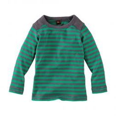 Stendal Striped Tee Shirt For Little Boys | Tea Collection