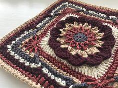 Crochet Blocks, Crochet Squares, Crochet Motif, Crochet Yarn, Knitting Yarn, Granny Squares, Crochet Afghans, Crochet Flower, Crochet Blankets