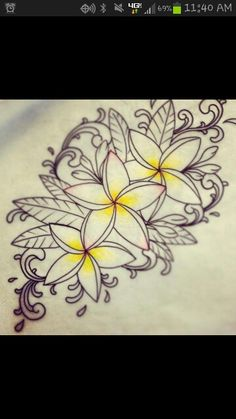 On lower back, wrist or foot with more color