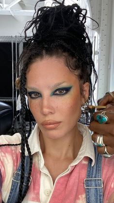 Makeup Inspo, Makeup Inspiration, Beauty Makeup, Face Makeup, Makeup Ideas, Makeup Tips, Fashion Inspiration, Halsey, Aesthetic Beauty