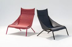 #trend - Garden furniture: sunbeds and deckchairs: Moroso, small armchair Tent #outdoorfurniture