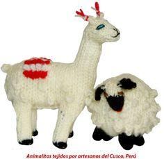 Animalitos tejidos por artesanos del Cusco, Perú