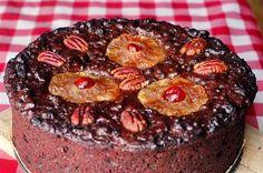 Old English Dark Fruit Cake