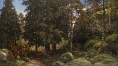 Kansallisgalleria - Taidekokoelmat - metsä Plants, Museum, Plant, Planting, Planets