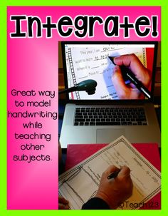 Teach123 - tips for teaching elementary school: Improve Handwriting with Technology